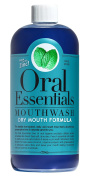 Oral Essentials Dry Mouth Mouthwash 470ml Dentist Recommended Moisturises & lubricates without harsh or toxic chemicals using Coconut, Grape Seed, and Cayenne Pepper Oils Less Dry Mouth in 2 weeks