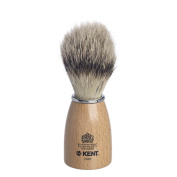 Kent Wooden Barrel Immitation Badger Shaving Brush Small