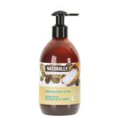 Upper Canada Soap Naturally Nourishing Hand and Body Lotion, Argan Sea Salt, 12 Fluid Ounce