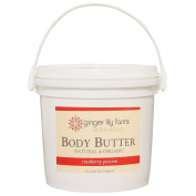 Ginger Lily Farm's Botanicals Body Butter, Cranberry Passion, 1630ml