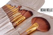 Beau Belle Makeup Brushes - Makeup Brush Set - Makeup Brushes Set - Professional Makeup Brushes - Make Up Brushes - Makeup Brush Set With Case - Makeup Brushes Set Professional