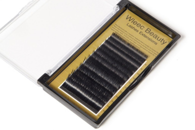 Wleec Beauty Lashes Extensions Mink Eyelashes J Curl 0.20x8-16mm 5 Size in 1 Mixed Tray