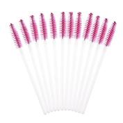 Makeup Brush , Sandistore 50pcs Disposble Eyelash Brush Mascara Wands Makeup Cosmetic Tool