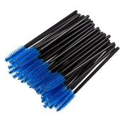 50 X Yonger Disposable Mascara Brushes Eyelash Brushes Wands Mascara Applicator Makeup Brush Kits