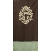 For Pro Premium Saddle Fleur-de-Lis Chocolate Massage Linen