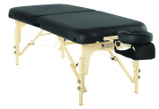 Custom Craftworks Heritage Massage Table with PU Cushions