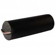 Mt Massage Tables Extra Large 23cm x 70cm Full Round Bolster for Massage Table,black