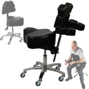 Brand New 2016 Model InkBed Patented Adjustable Ergonomic Chair Stool Chest Back Rest Support Tattoo Studio Equipment