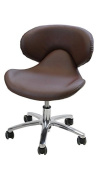 Continuum Standard Salon & Spa Nail Technician Chair in (CHOCOLATE) + FREE Cape Co. Apron ($20 value).