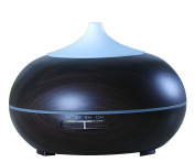 Carepeutic Aroma Therapy Diffuser, Dark Wood Grained, 0.5kg