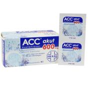 ACC akut 600 mg 20 effervescent tablets