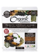 Organic traditions Probiotic Superfood Booster, Decadent Chocolate Coconut - 210ml pack of 2