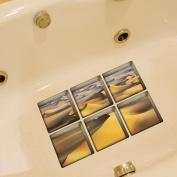 CoSopo Colourful Antislip Bath Tub Tattoos Tub Stickers Tub Decals Tub Appliques