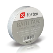 XFasten Anti Slip Tape Bathtub and Shower Treads, 2.5cm by 4.6m