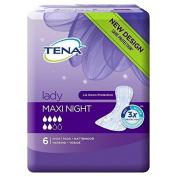 Tena Lady Maxi Night 6 per pack