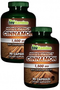 TNVitamins High Potency Cinnamon 1500 Mg 2x90 caps