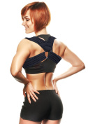 CAMP BEN (TM) MEDIUM Figure 8 Clavicle Corrector Brace - Correct Posture - Shoulder Supports - Aid Fractures & Sprains
