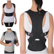 Thoracic Back Brace Support for Back Neck Shoulder Upper Back Pain Relief, Perfect Posture Corrector Strap for Cervical Spine