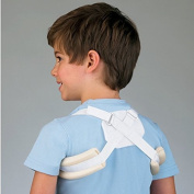 FLA Orthopaedics Adjustable Clavicle Support White - Paediatric 2-7 yrs. Fits chests