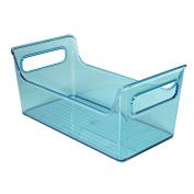 InterDesign Portable Bath Caddy, Aqua