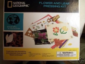 National Geographic Flower and Leaf Pressing Kit