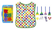 Art Set for Kids - Textures for Painting Kids Supplies Brush & Finger Paint Set