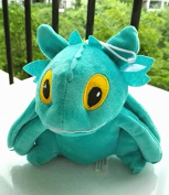 Sey's Baby - HOW TO TRAIN YOUR DRAGON 2 Toothless Night Fury Soft Stuffed Plush Toy Doll 20cm / Green Colour
