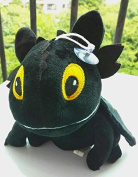 Sey's Baby - HOW TO TRAIN YOUR DRAGON 2 Toothless Night Fury Soft Stuffed Plush Toy Doll 20cm / Black Colour