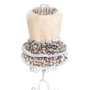 Pet Dress,Haoricu Winter Fall Bowknot Gem Sweater Skirt Costume Small Dog Cat Dress Pet Clothing Cold Weather Coat