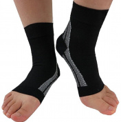 Support Socks - Provides Achilles Tendon Support , Plantar Fasciitis Support , Arch Support and Arch Pain Relief - Medical Grade (Pair) Medium