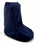 My Recovers Walking Brace Cover for Orthopaedic Boot, Weather Cover in Navy Waterproof Fabric, Made in USA, Short Boot, Orthopaedic Products Accessories