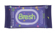 Bresh - Diva Fragrance - wet wipes specially designed for women's body, hands and face. Dispenser Pack