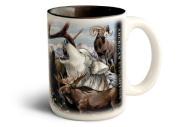 Regional Collage Design 470ml Stoneware Coffee Mug