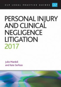 Personal Injury and Clinical Negligence Litigation