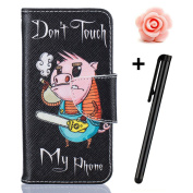 Samsung Galaxy S7 Edge Case,Samsung Galaxy S7 Edge flip Case,TOYYM Colourful Premium Flower Animal Cartoon Pattern Drawing Art Painted Folio PU Leather Stand Function Flip Magnetic Book Wallet with Card Slot Holder Protective Cover Case for Samsung Gal ..