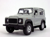 Land Rover Defender 1/32 Scale Diecast Metal Model - SILVER