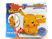 Pokemon Pikachu 3D Foam Backed Puzzle