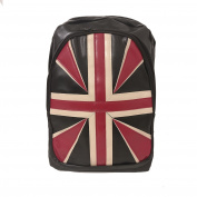 [UK SELLER] Retro Union Jack Design Canvas Backpack Shoulder Travel Bag Rucksack Lightweight Cute Pattern Canvas Backpack Young Girls School for Women