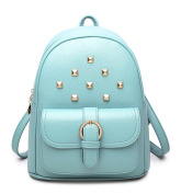 Keshi Pu Cool Backpack Bag, Fashion Cute Lightweight Backpacks for Teen Young Girls