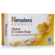 100% Herbal Milk Cream And Honey Nourishing Soap .  Himalaya Moisturising Skin And Body Rejuvenating Pure Vegan Vegetarian Soap For Radiant Skin Nourishing