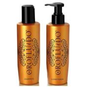 Orofluido Shampoo + Conditioner (200ml Each) by COLOMER [Beauty]