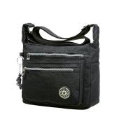 EGOGO Messenger Cross-body Bag Shoulder Bag with Zipper Pockets