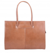 Superflybags Genuine Smooth Leather Handbag Business bag Model Uff Made in Italy