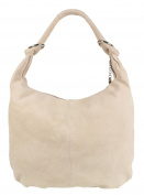 Girly HandBags Hobo Italian Suede Leather Shoulder Bag