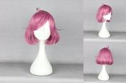 Women's Wig Cosplay Wig Pink 35 cm Noragami Ebisu Joy