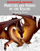 Dungeons & Dragons Monsters & Heroes of the Realms Colouring Book