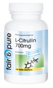 L-Citrulline 700mg - In Pure Form - No Additives or Excipients - 210 Vegetarian Capsules