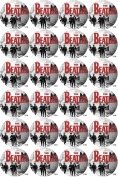 The Beatles 20 x PRE-CUT 45mm Fairy cake Cupcake Cake Edible Topper Decorations - Printed On Premium Quality Rice Paper. Ideal for Birthdays, Christmas, Weddings and Celebration Cakes