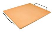Ibili 784338 Stone Pizza Stone Rectangular 44 x 33 x 5 cm Orange
