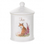 Wrendale by Royal Worcester Tea Canister Fox, Multi-Colour